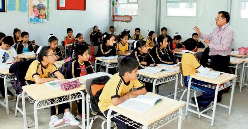 MINEDU en contra de Proyecto de Ley para retirar a escolares por deudas
