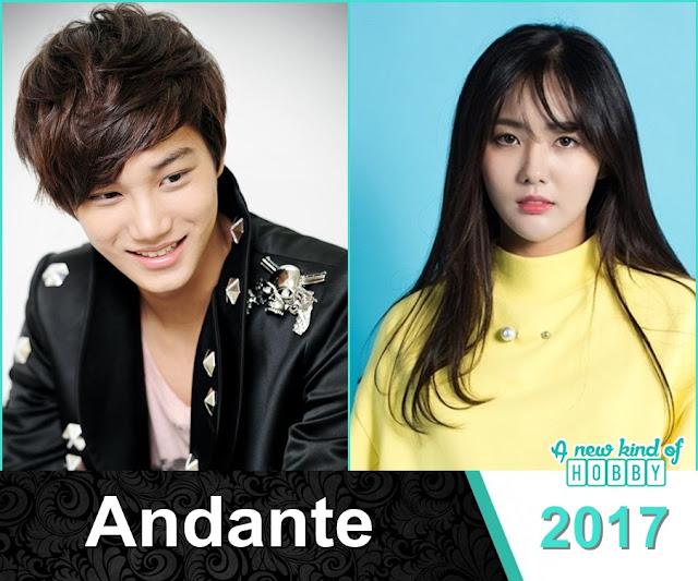 Latest Korean Drama Andante - 2017 featuring Exo Kai