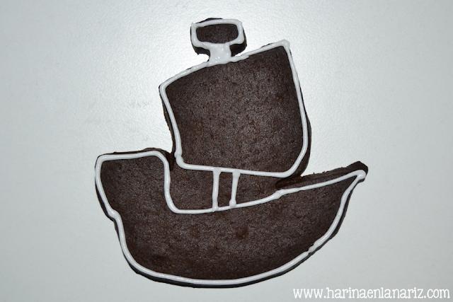 tutorial galleta barco vikingo paso 1