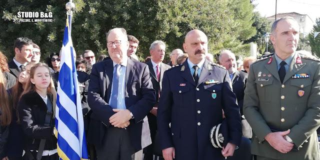 Ο Π. Νίκας στη 197η επέτειο της Α Εθνοσυνέλευσης των Ελλήνων στην Επίδαυρο