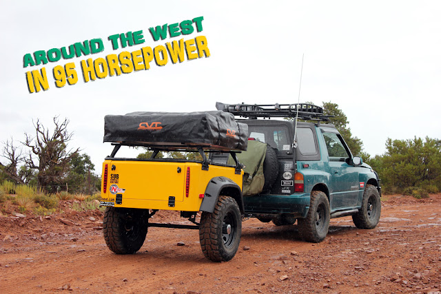 Around The West in 95 Horsepower: Moab