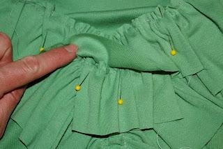 Giysiyi Fırfırla Süsleme