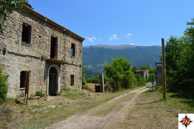 Morino Vecchio, abitazione abbandonata