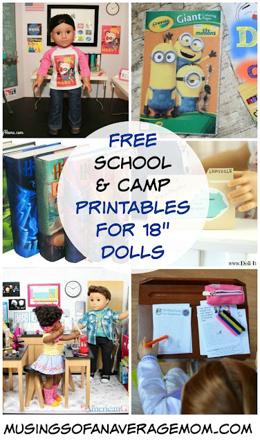 "Free school printable for 18"" dolls"