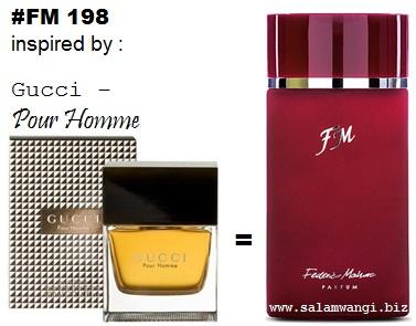 parfum original murah, parfum gucci - pour homme