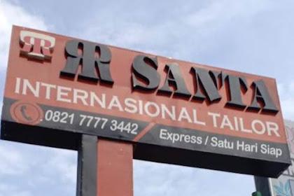 Lowongan Kerja Pekanbaru RR Santa Tailor Agustus 2018