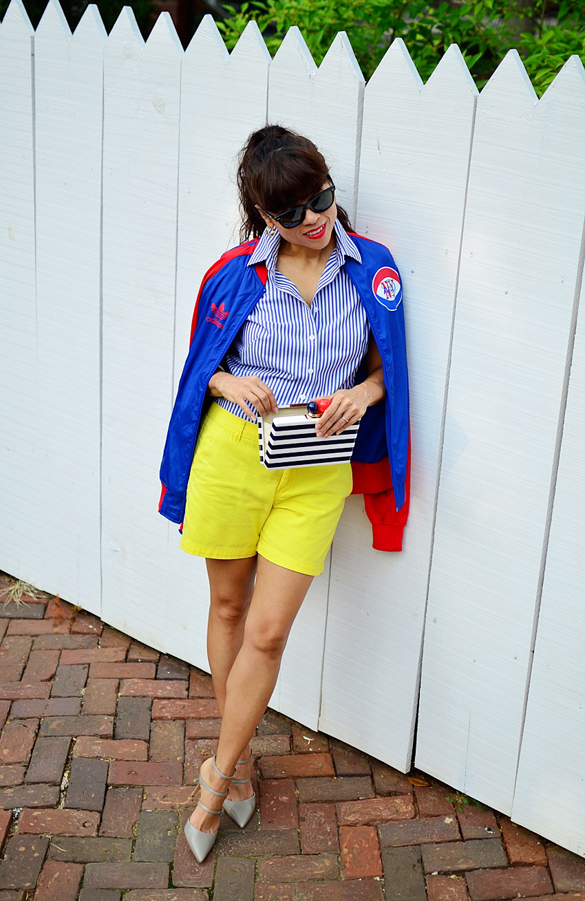 Colorful look street style