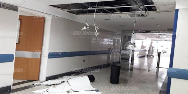 Hospital Perez Carreño se está cayendo a pedazos