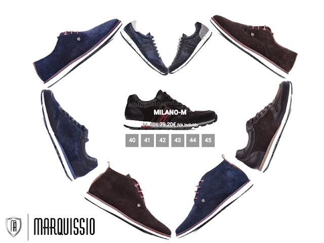 Zapatos y deportivas para hombre, made in Elche, Marca Marquissio