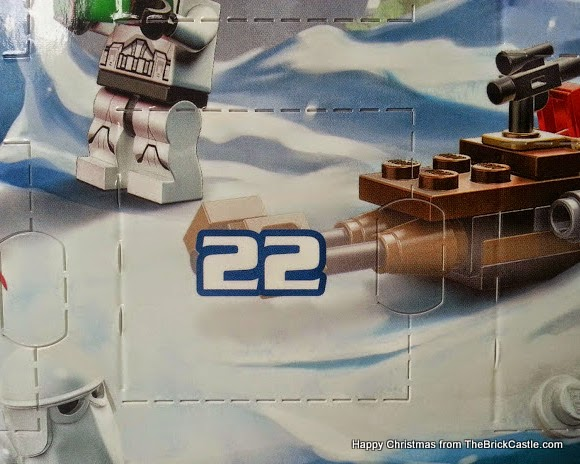 The LEGO Star Wars Advent Calendar Day 22 window