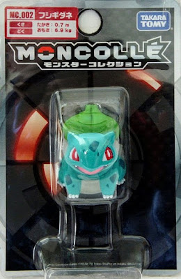 Bulbasaur figure Takara Tomy Monster Collection MONCOLLE MC series