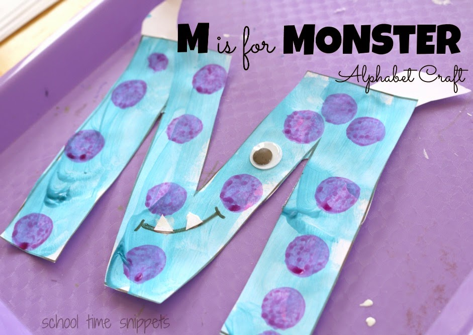 letter m alphabet craft
