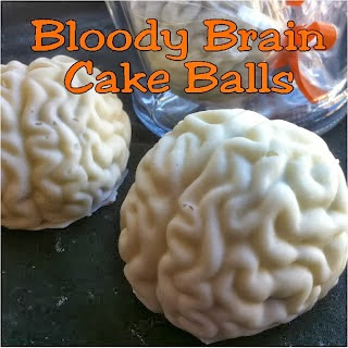 Bleeding Brain Cake Balls