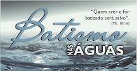 Curso Das Águas Pré-Batismo