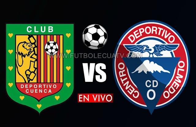 Deportivo Cuenca se mide ante Olmedo en vivo a partir de las 20h00 horario programado por la fecha veinticinco del torneo ecuatoriano a efectuarse en el campo Alejandro Serrano Aguilar, siendo el árbitro principal Vinicio Espinel con emisión del canal oficial GolTV Ecuador.