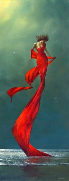Brisa de Vermelho - Um mundo encantador pintado por Jimmy Lawlor