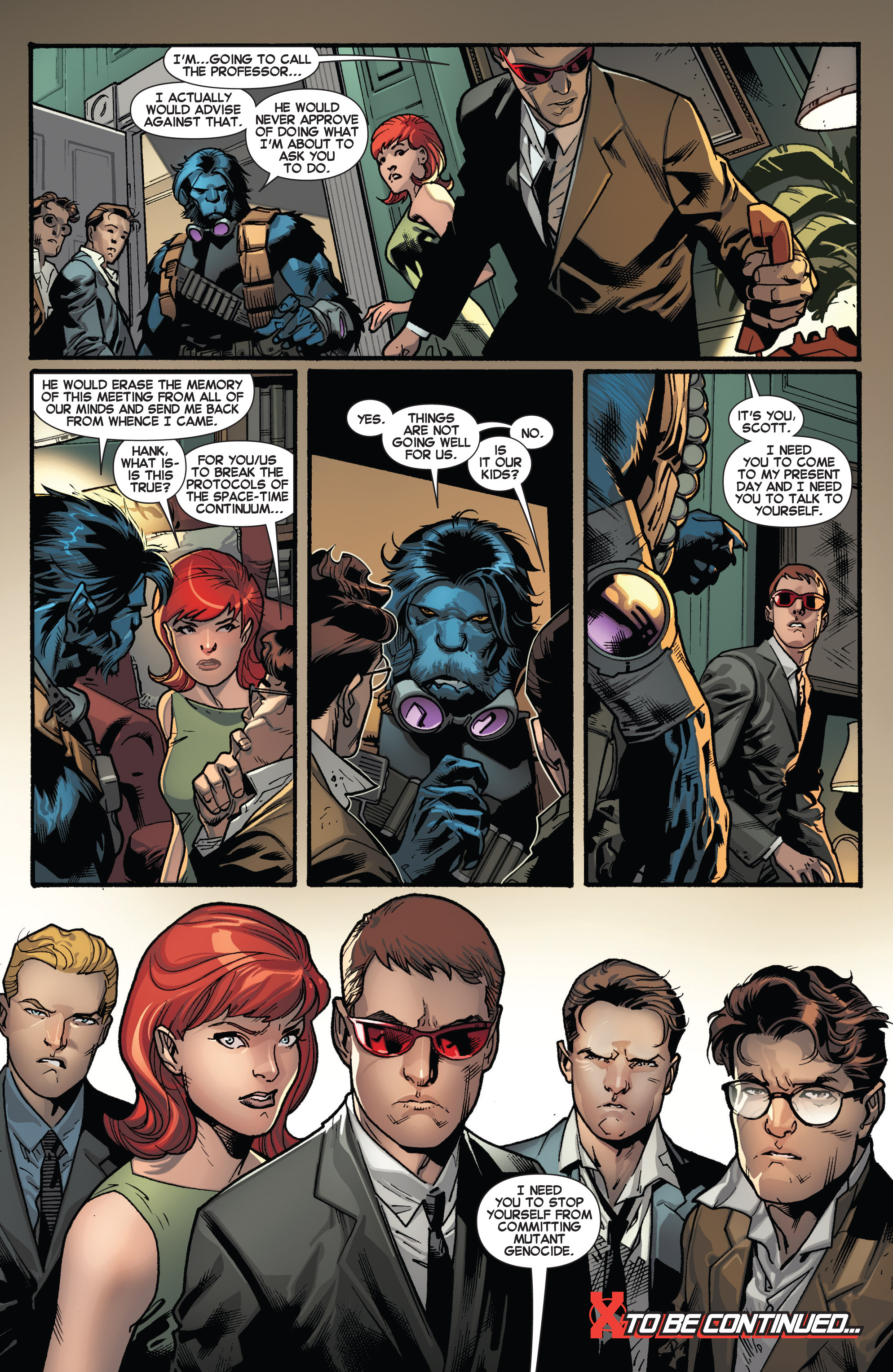 Read online All-New X-Men (2013) comic -  Issue # _Special - Yesterday's X-Men - 22