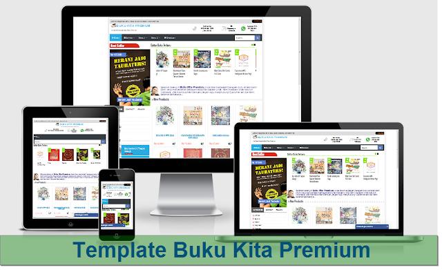 template toko blogspot buku kita premium