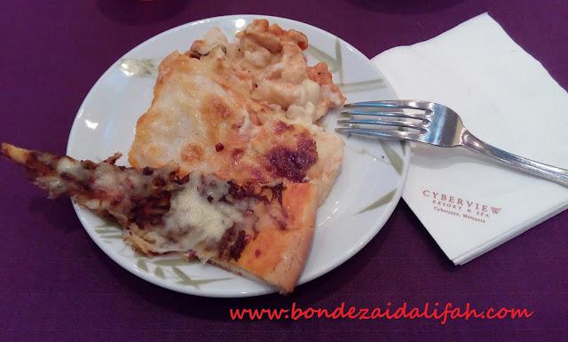Lasagna Ketupat Dan Pizza Serunding
