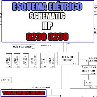 Esquema Elétrico Notebook HP 6230 8230 Laptop Manual de Serviço  Service Manual schematic Diagram Notebook HP 6230 8230 Laptop   Esquematico Notebook Placa Mãe HP 6230 8230 Laptop