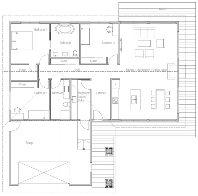 Affordable Home Plan CH431