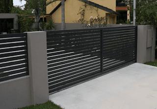 hoto pagar tembok rumah, biaya pembuatan pagar tembok rumah, pagar rumah tembok minimalis 2016, pagar rumah tembok modern, pagar tembok rumah minimalis modern