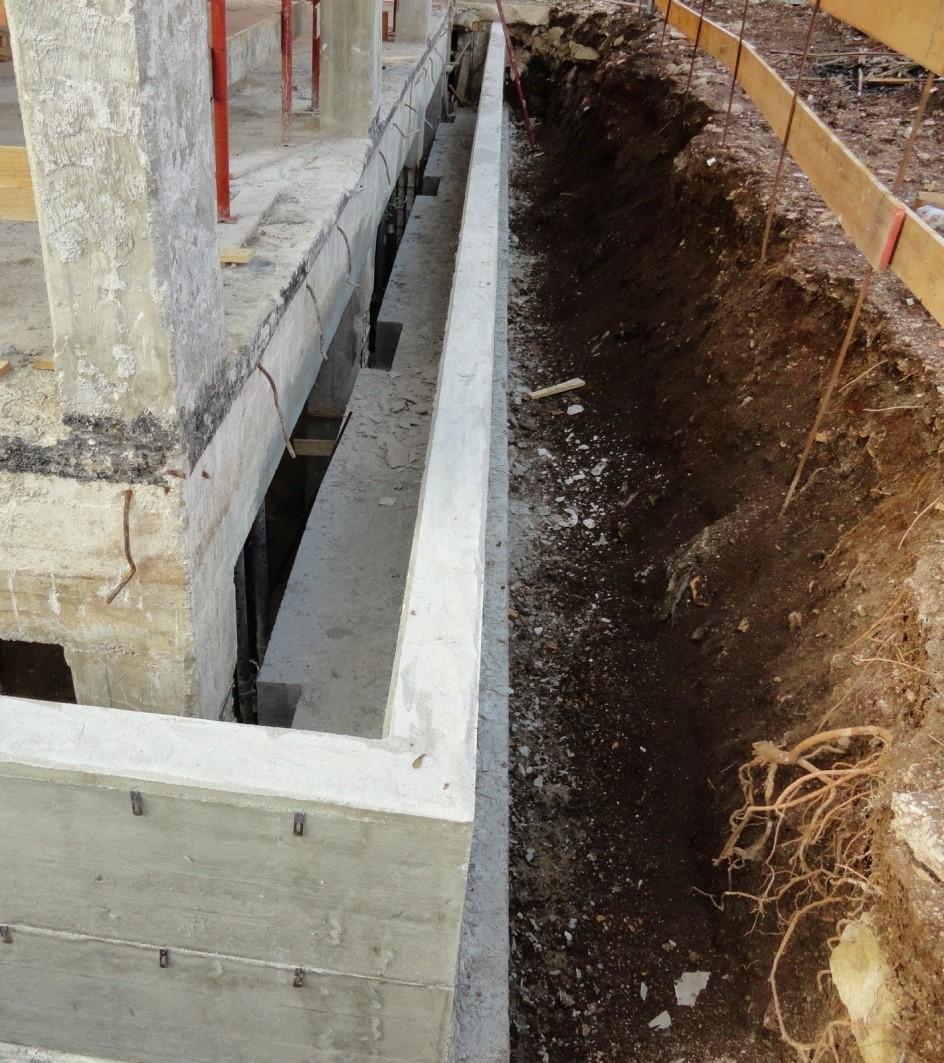 Impermeabilizzazione muri contro terra edilizia in un click - Umidita muri esterni casa ...