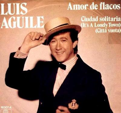 Foto de Luis Aguilé en portada de disco