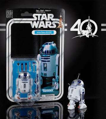 "Star Wars 40th Anniversary Black Series 6"" Action Figures Wave 1 - R2-D2"