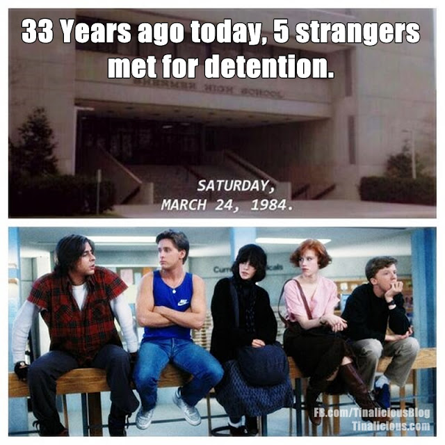 The Breakfast Club - 33 Years Ago Today