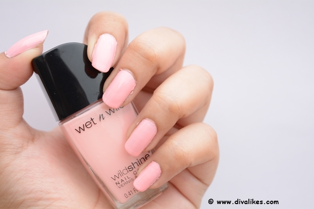Wet n Wild Wild Shine Nail Color Tickled Pink Review