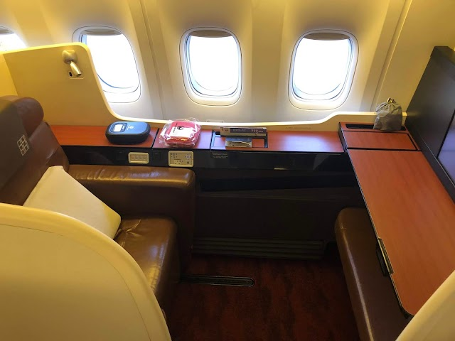 Review: Japan Airlines JAL62 First Class Boeing 777-300ER Tokyo NRT to Los Angeles LAX