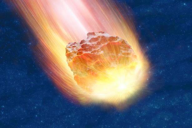 Meteor Jatuh di Rusia (Tahun 2013)