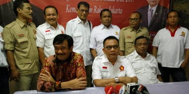 Asal Bukan Ahok, Gerindra Rela Jadi Wakilnya PDIP