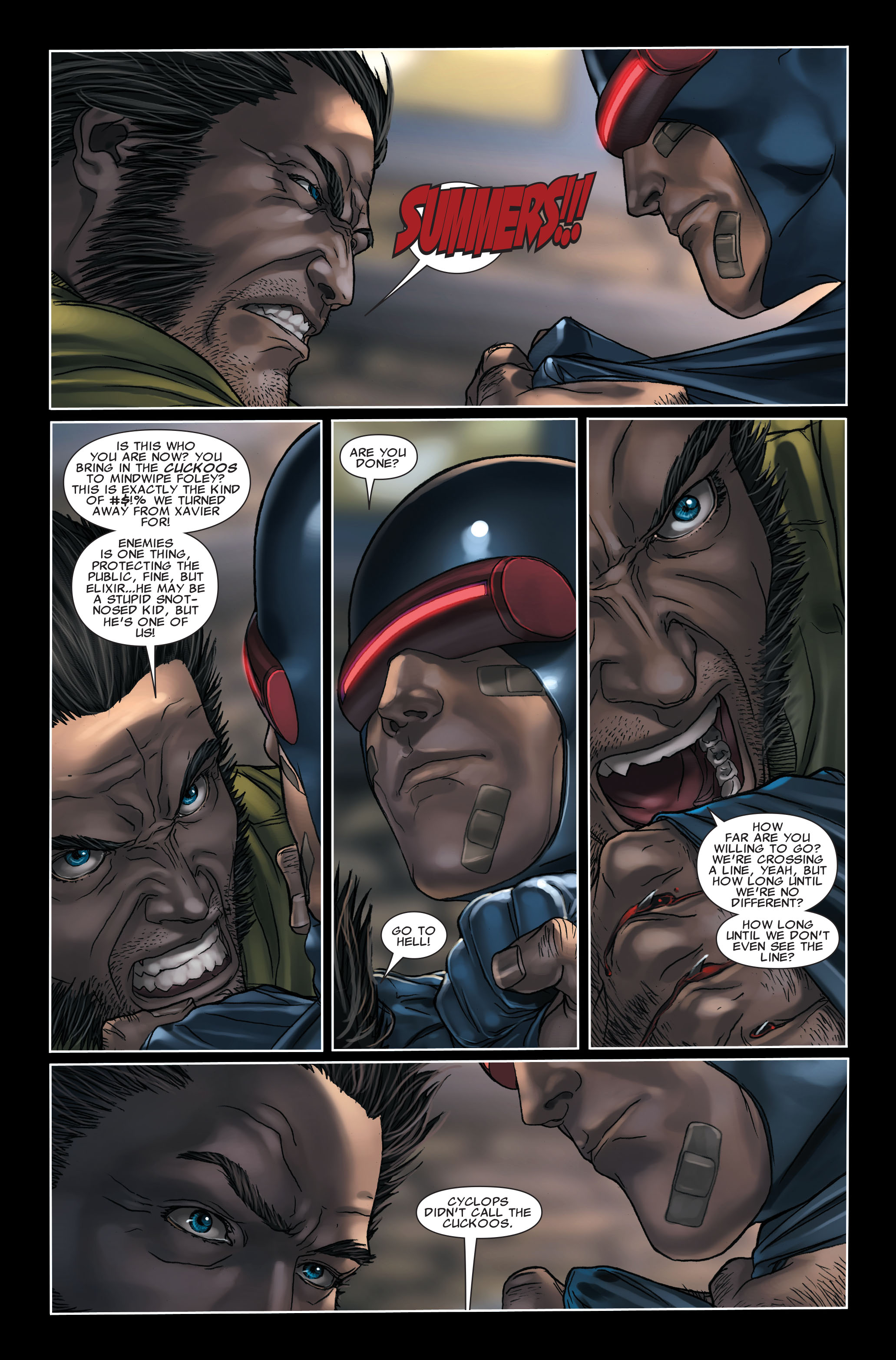 Read online X-Force (2008) comic -  Issue #7 - 15