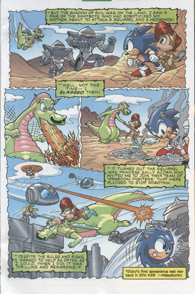 Comic Sonic The Hedgehog (1993) issue 155