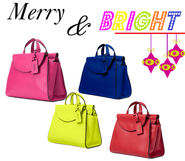 10 Christmas Gifts Ideas For A Fashionista, Holiday Gift Guide, Christmas Gift Ideas, Kate Spade Saturday Satchel, Bright Color Satchels, Neon Crossbody