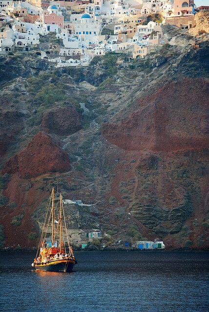 Caldera Cruise Tour, Santorini - Ioanna's Notebook