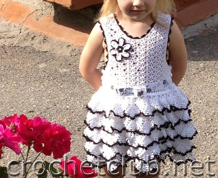 Vestido Primaveral Infantil Patron