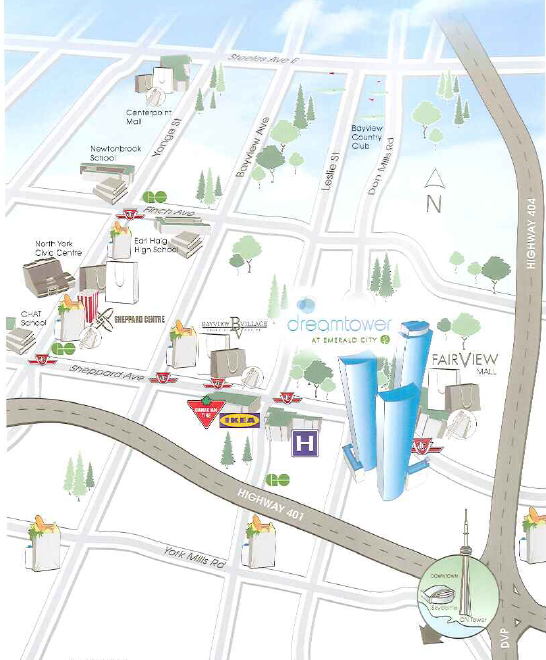 Fairview Mall Floor Plan: Project: Dream Tower At Emerald City