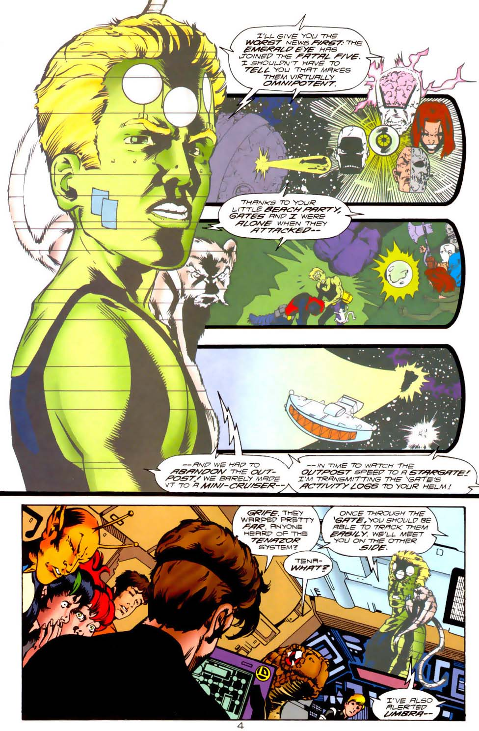 Legion of Super-Heroes (1989) 121 Page 4