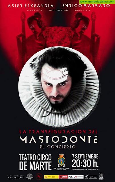 El Teatro Circo de Marte acoge el espectáculo 'La transfiguración del mastodonte' dentro del Programa Platea
