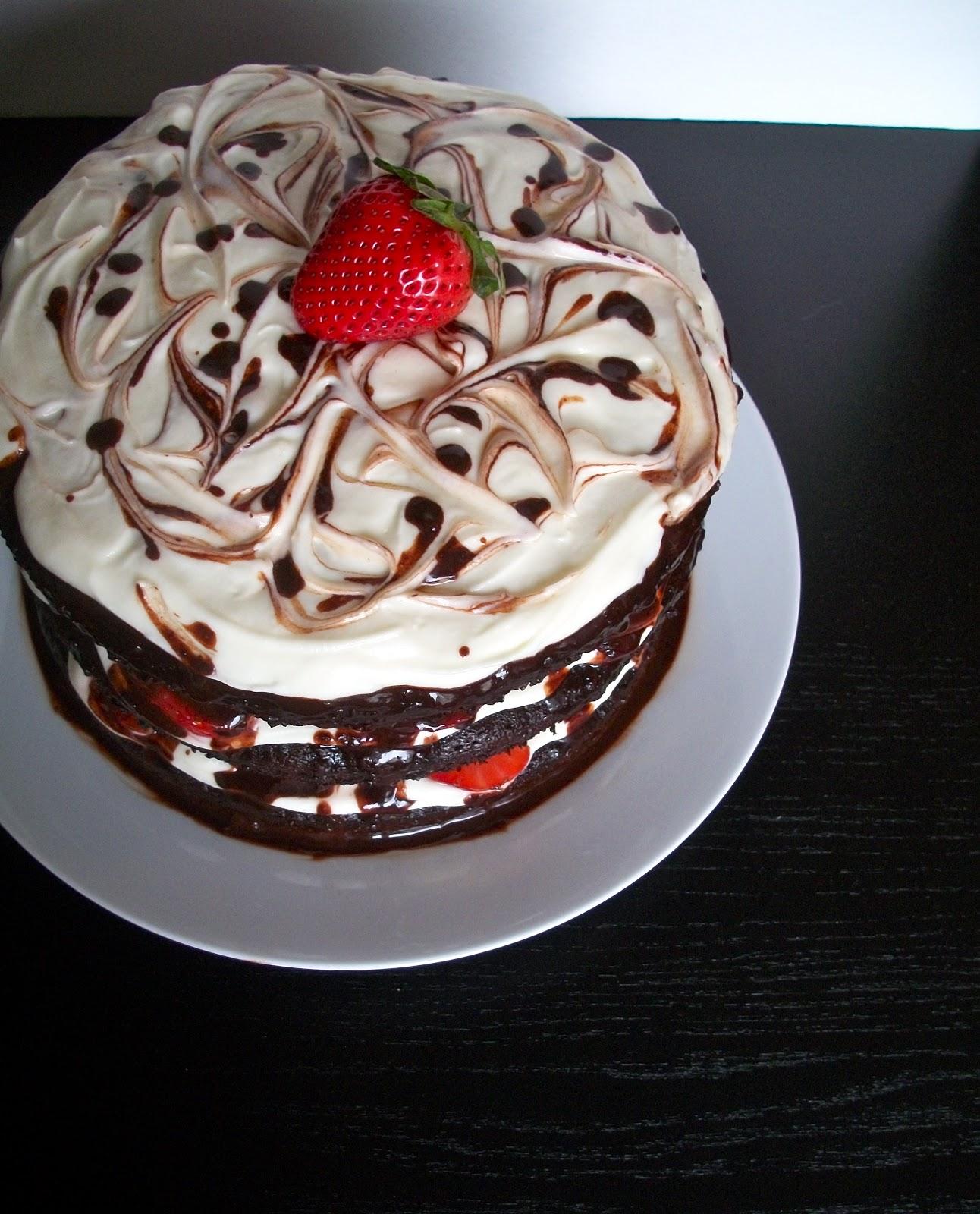 Brooke Bakes Mom S Birthday Cake And Homemade Chocolate