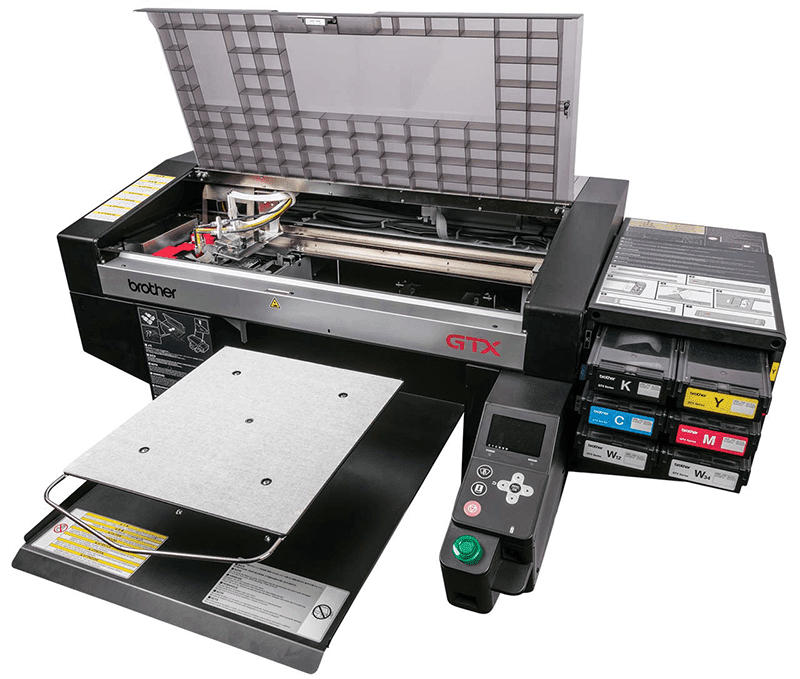 Brother GTX direct-to-garment inkjet printer