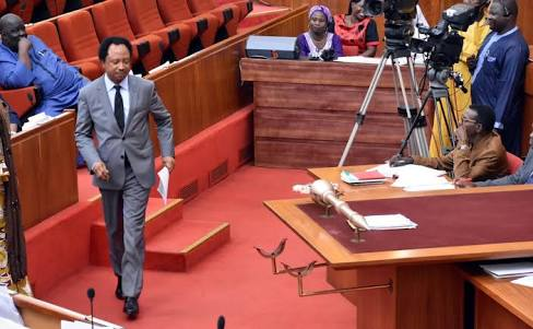 Senate Reacts To Shehu Sani's N13.5m Allowance Revelation