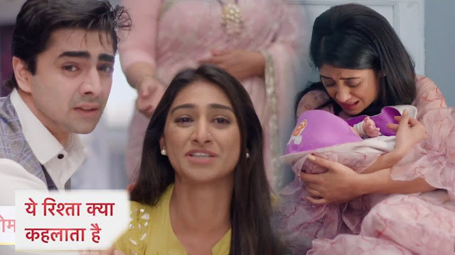 OH NO! Keerthi breakdown, Naira runaway with Krish in Yeh Rishta Kya Kehlata Hai