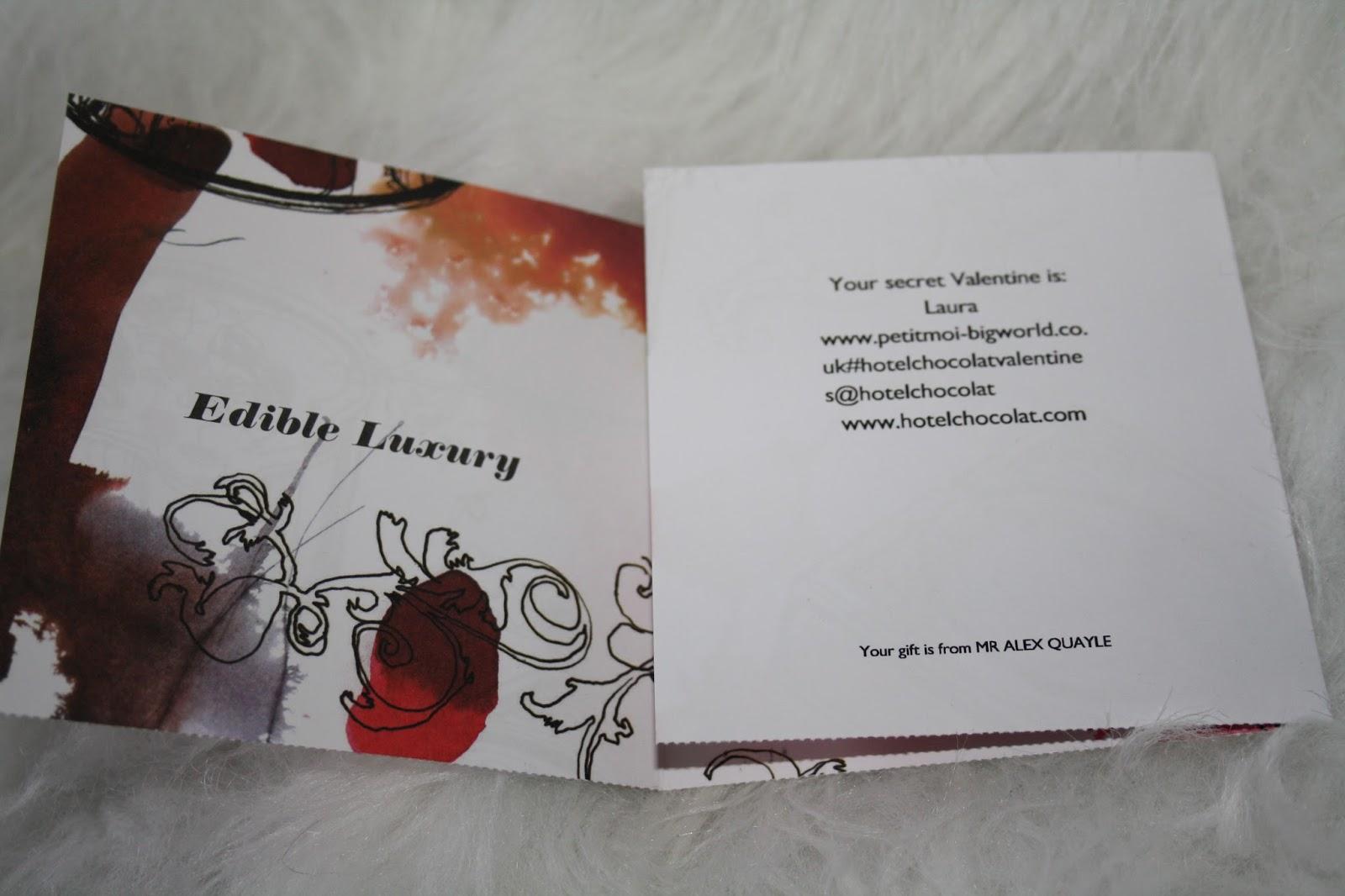 Hotel Chocolat Gift Card