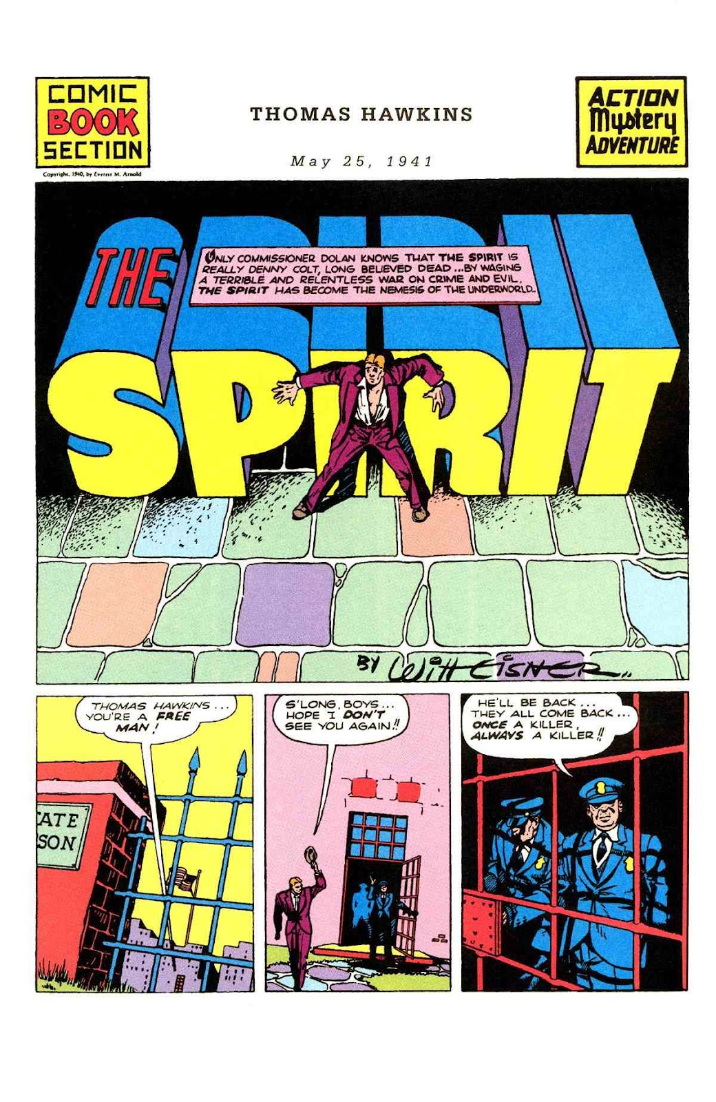 Read online Will Eisner's The Spirit Archives comic -  Issue # TPB 2 (Part 2) - 61