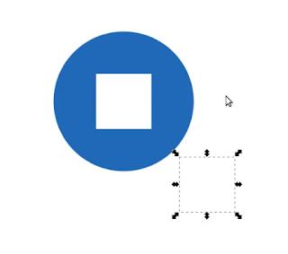 Move Object di Inkscape