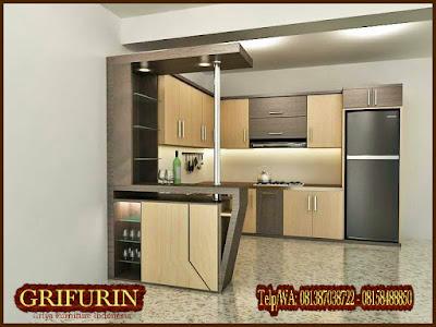 aneka kitchen set minimalis keren
